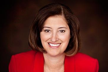 President Laurie Leshin Portrait