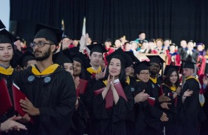 The university's first Commencement for master's and PhD degrees is a reflection of the growing stature of WPI's graduate program. alt