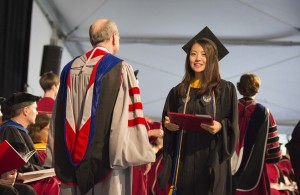 During the 148th Commencement, the Institute awarded 705 master's degrees and 35 PhDs. alt