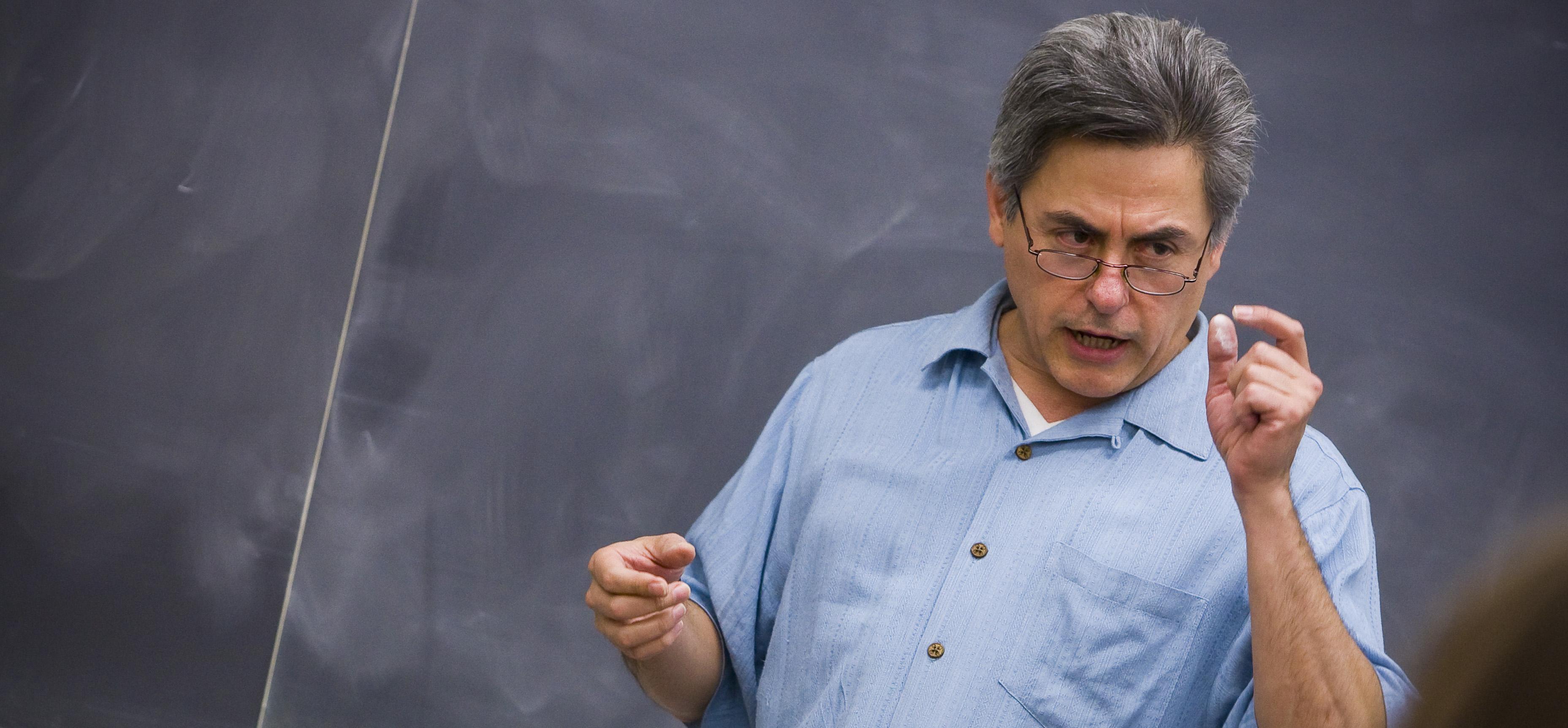 Professor Dick teaching