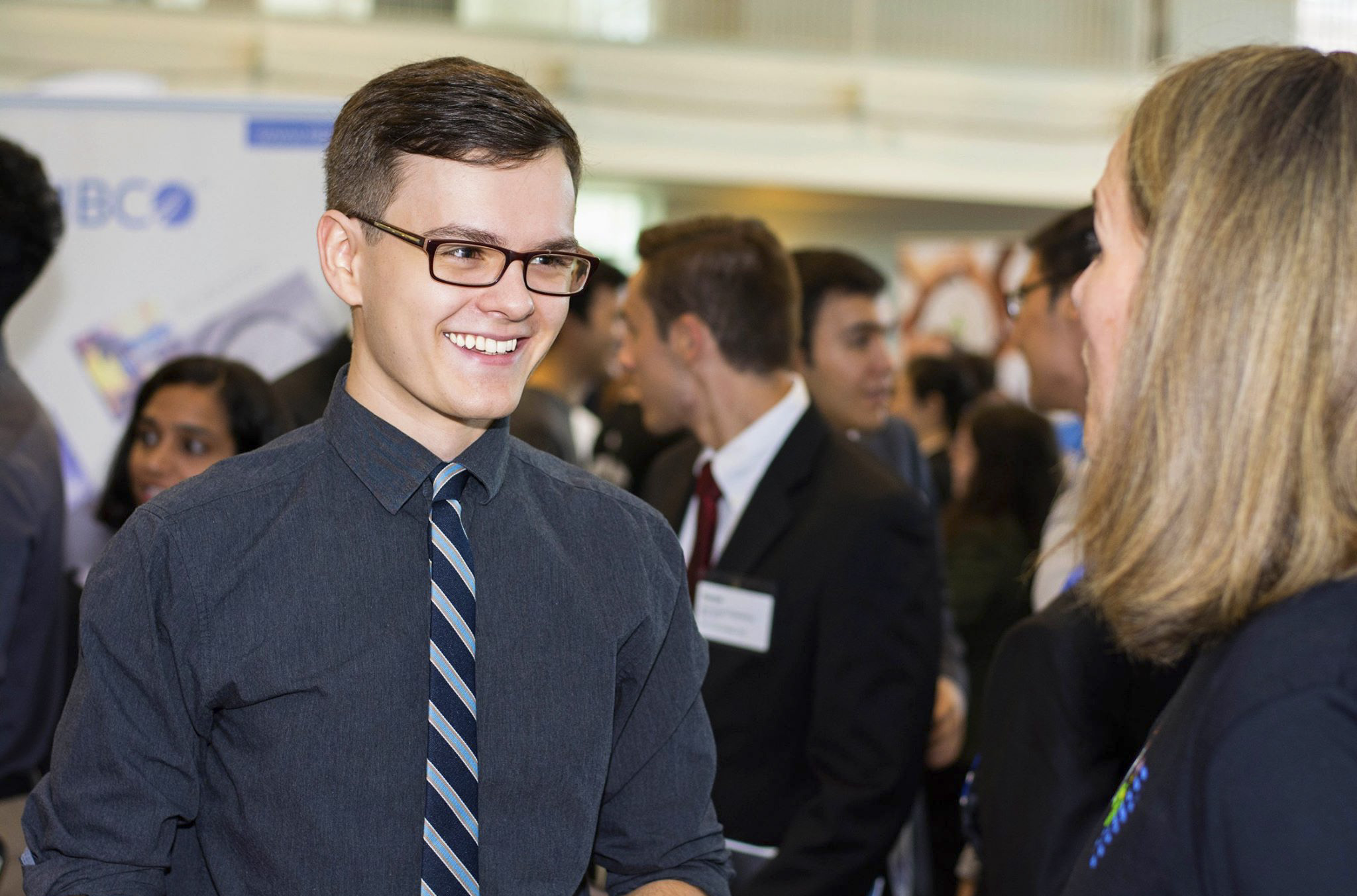 Student at WPI Career Fair