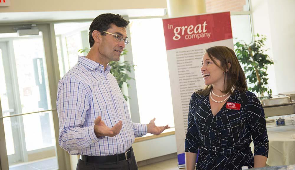 Graduate Students Talking