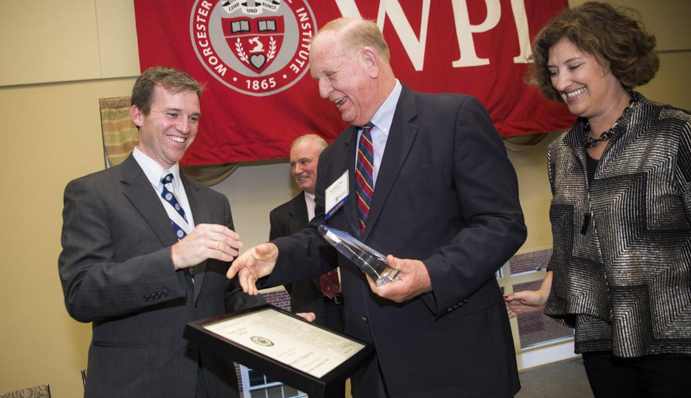 Alumni receiving awards
