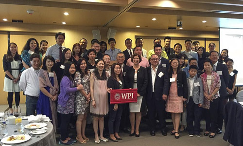 Alumni group in Hong Kong