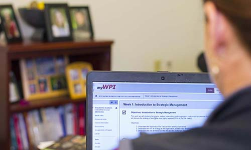 Online Learning at WPI
