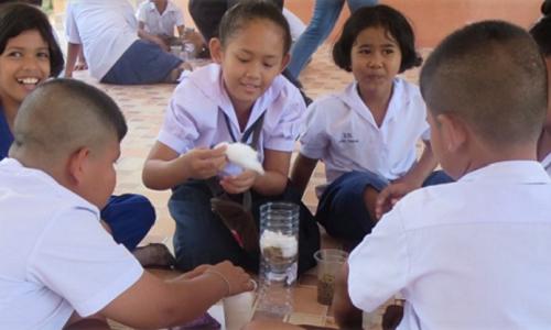WPI Thailand IQP classroom photot