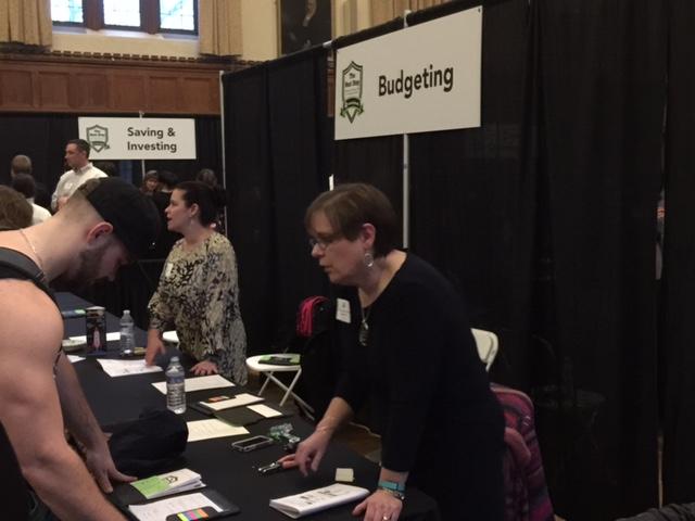 FinLit Fair Budgeting Booth