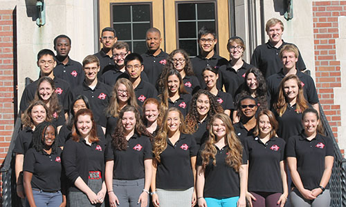 WPI Engineering Ambassadors group