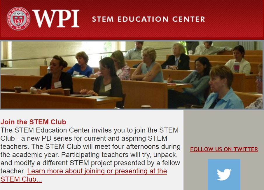 STEM Education Center Newsletter