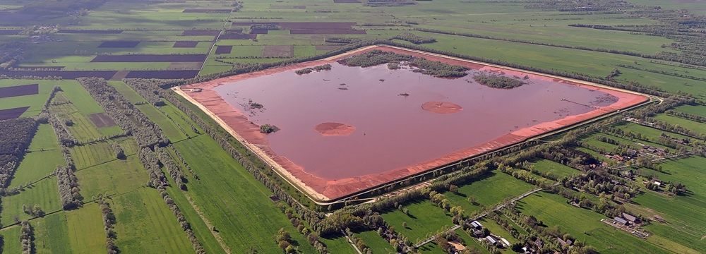 Red Mud Holding Pond