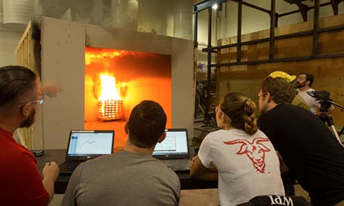 WPI Fire Protection Engineering Laboratory