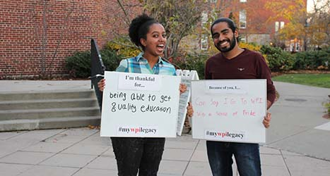 WPI GIving Day Campaign