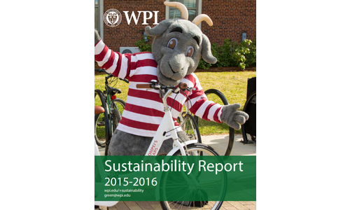 WPI Sustainability Report Cover