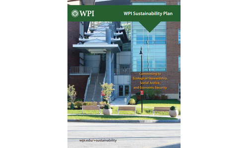 WPI's Sustainability Plan Cover