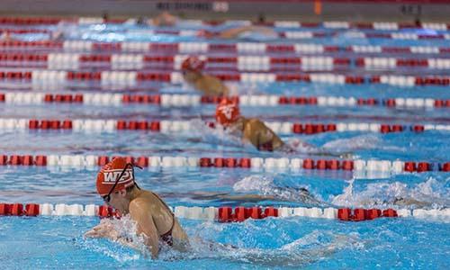 WPI women's swimming