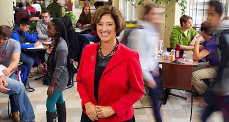 WPI President Laurie Leshin Named to the Board of Directors of the Association of American Colleges and Universities