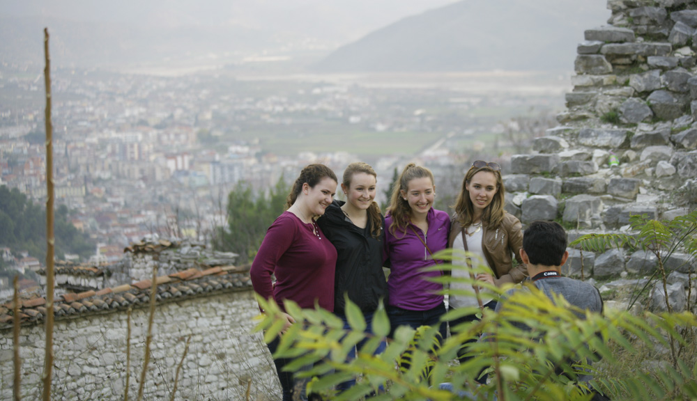A visit to the Berat Castle, a fortress overlooking the town of Berat, situated above the Osumi river in south-central Albania