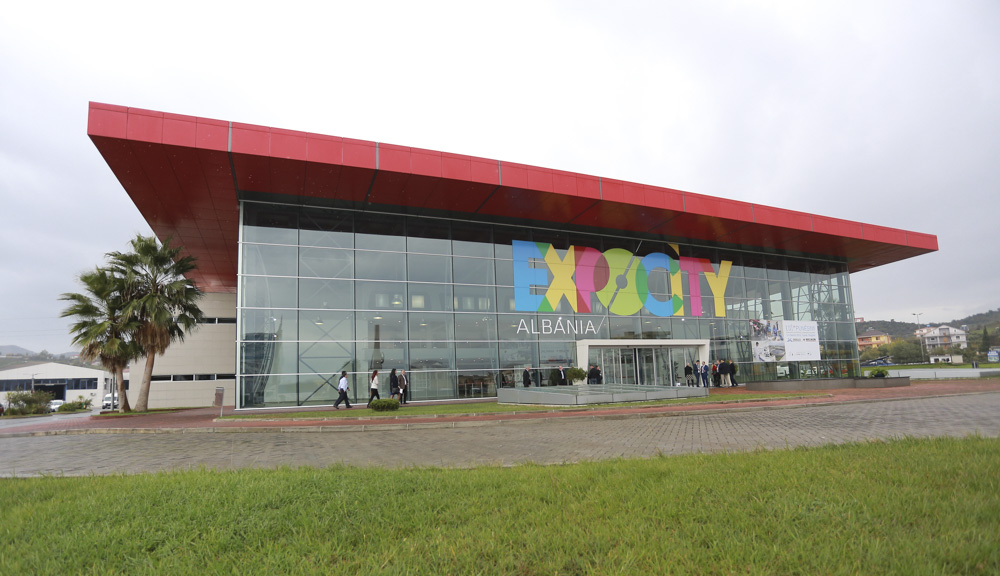 ExpoCity convention center where the Balkans Joint Conference was held at which the team's documentary trailer was featured