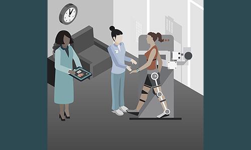 Rehabilitation Suite Illustration