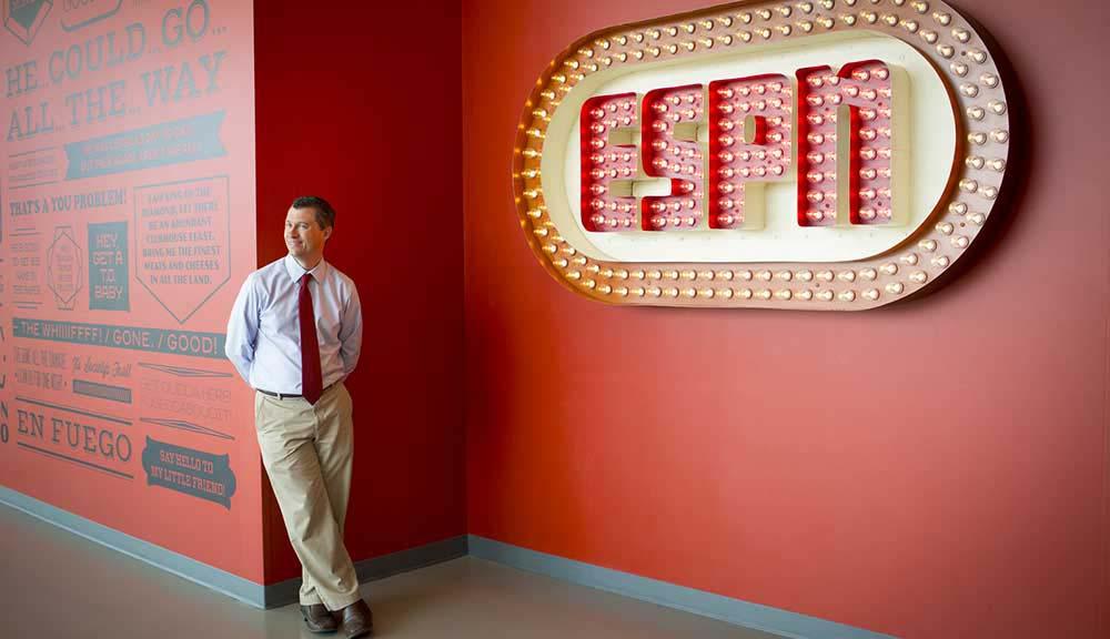 WPI alumni at ESPN