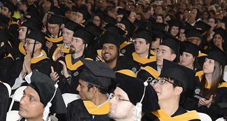 WPI Graduate Commencement.