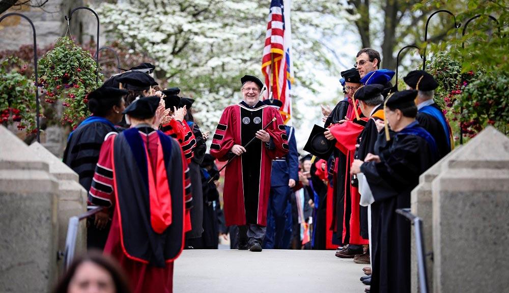 2017 Undergraduate Commencement Procession