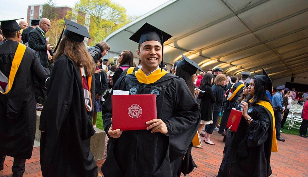 2017 undergraduate commencement WPI