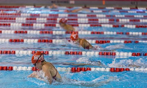 WPI swimming