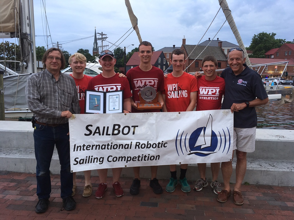 Sailbot winners