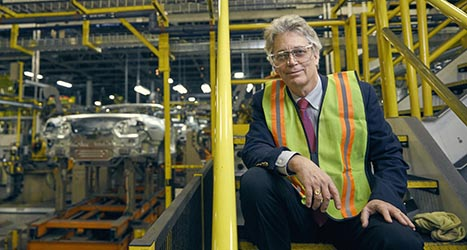 WPI alumni at Ford Motors