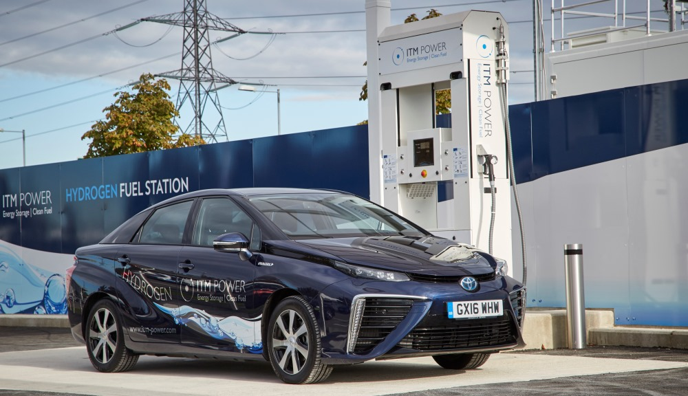 Toyota Mirai fuel-cell vehicle