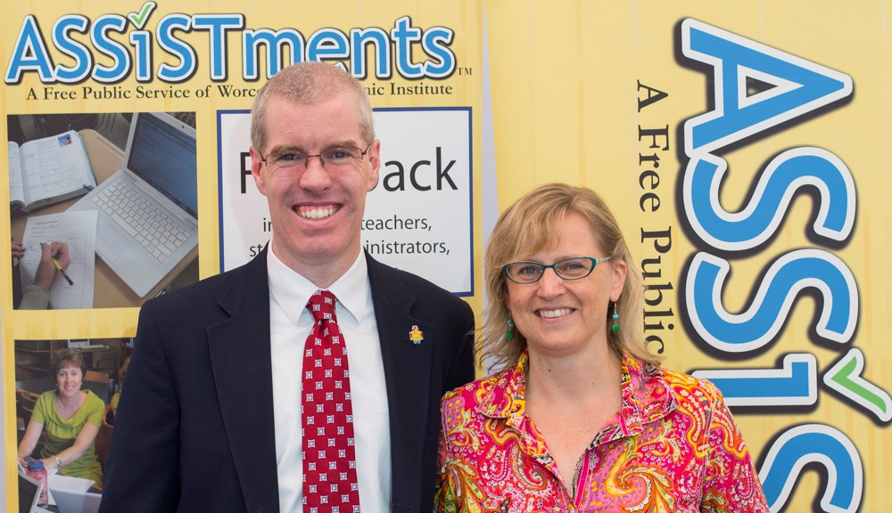 ASSISTments was developed by husband-and-wife team Neil and Cristina Heffernan at WPI and is provided for free to school districts across the country.