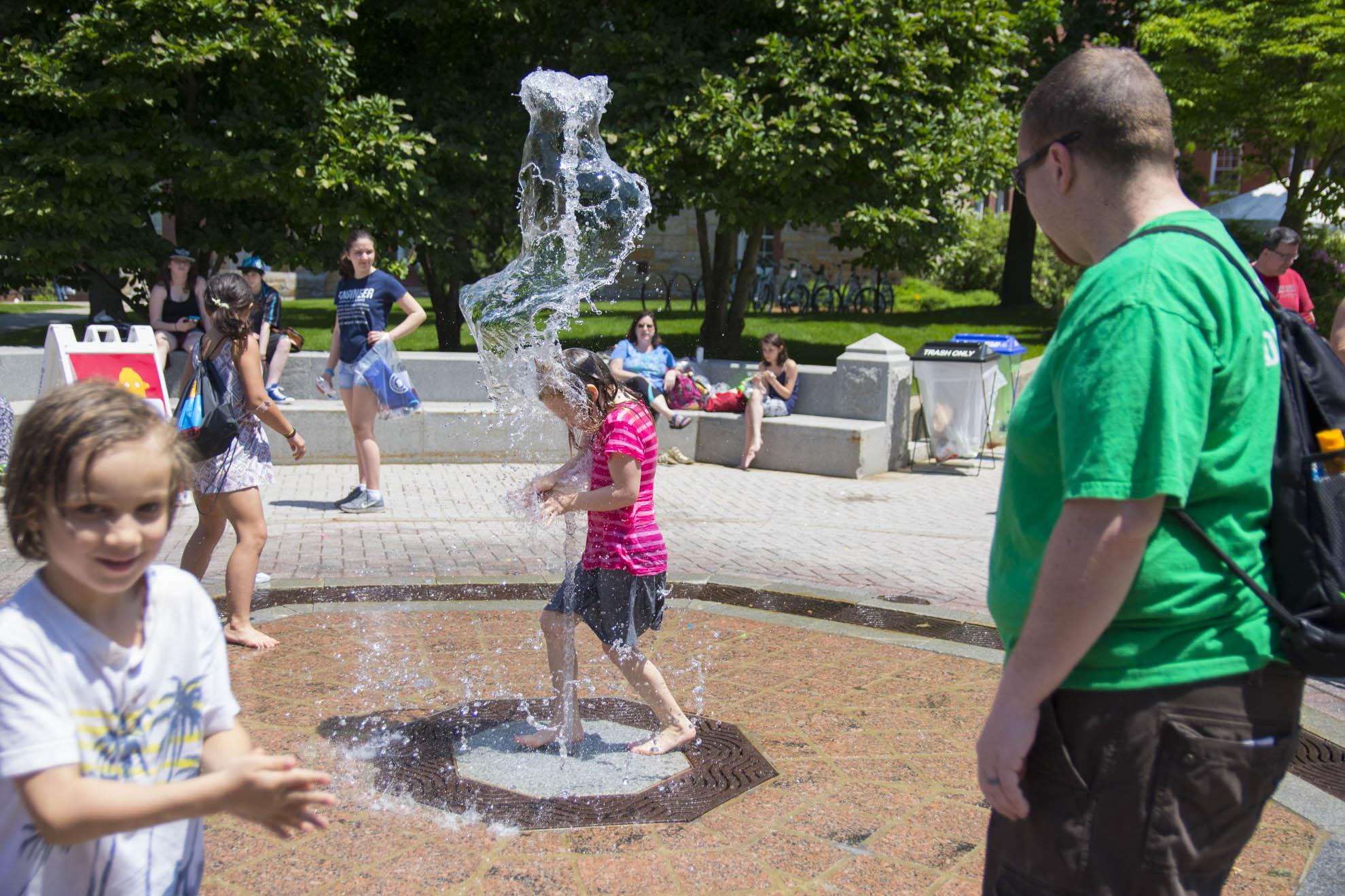 WPI Fountain