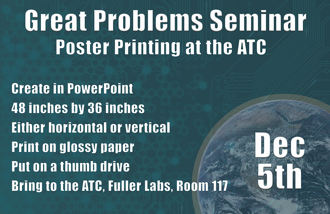 GPS Poster Printing Drop Off 2017 Graphic alt