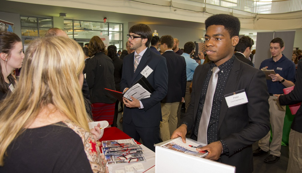 WPI fall career fair 2017