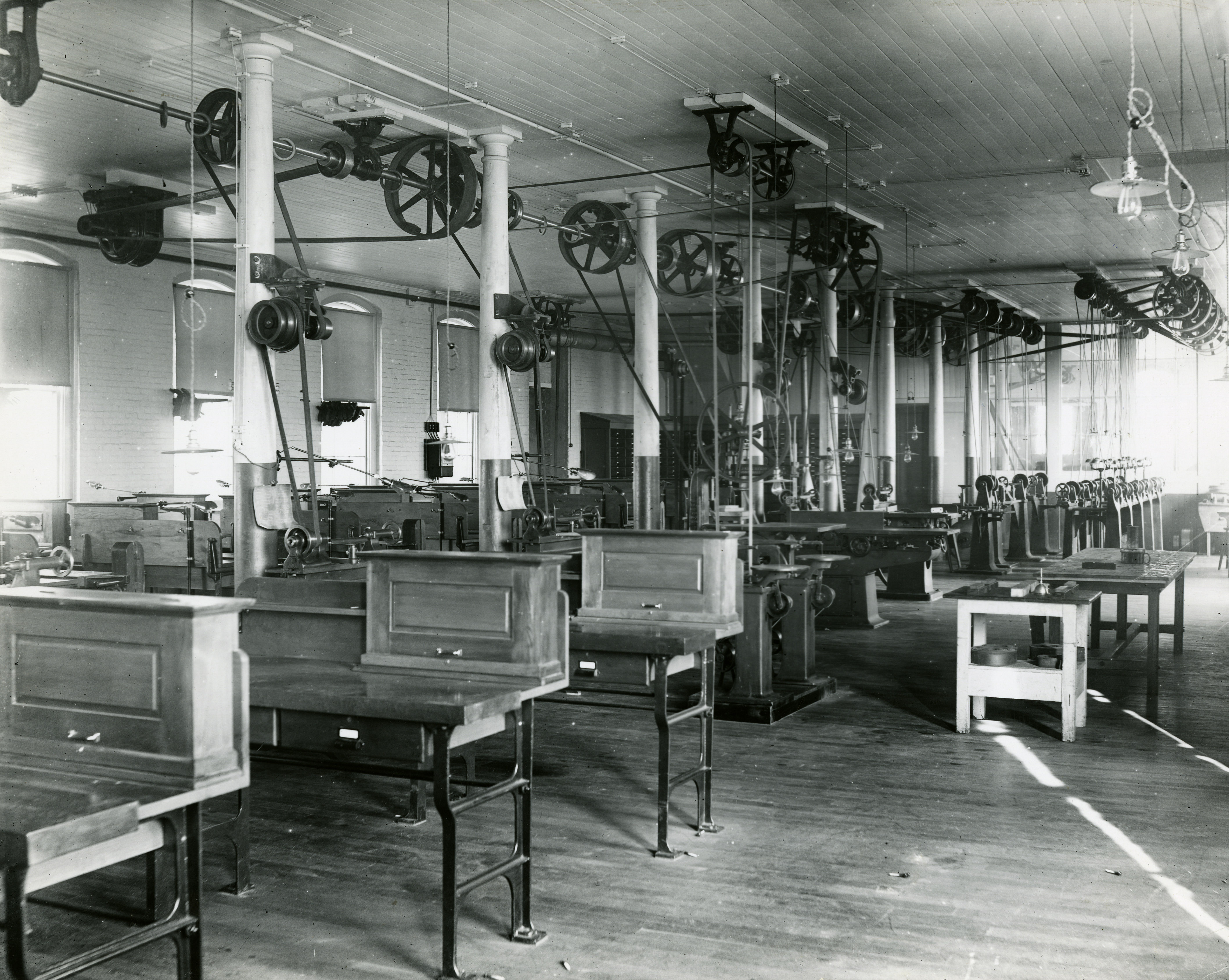 Washburn Shops interior