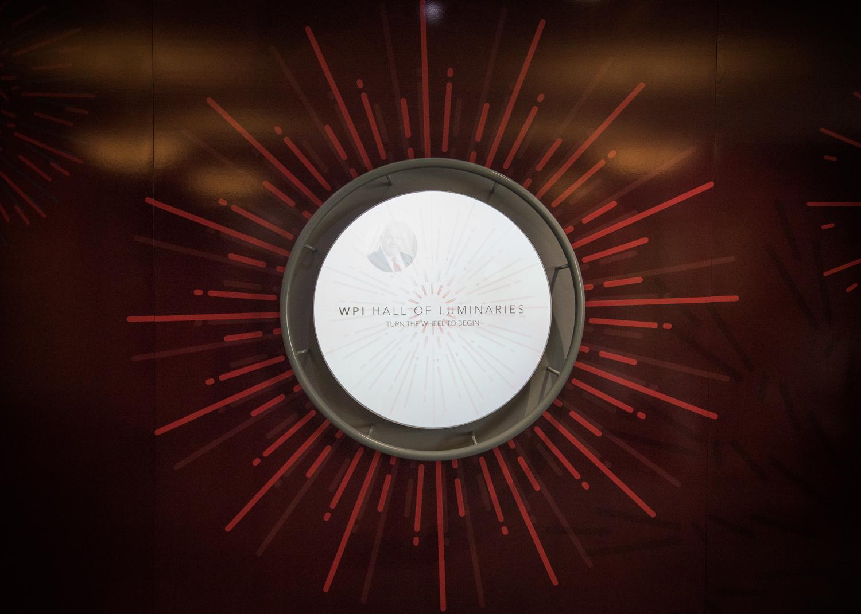 Hall of Luminaries media wheel