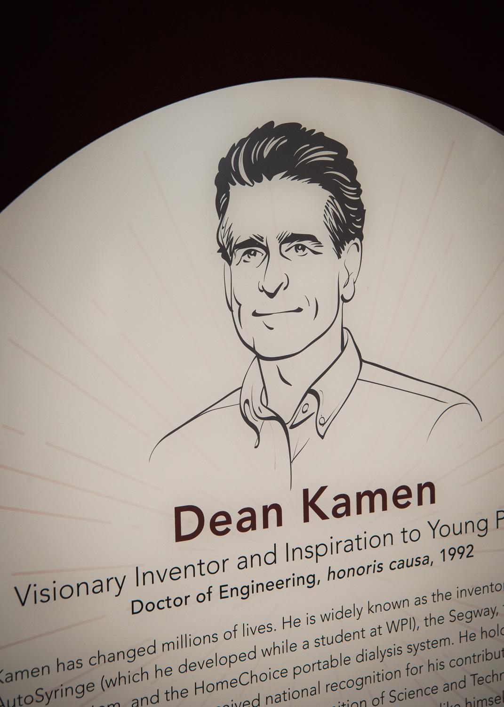 Dean Kamen's plaque
