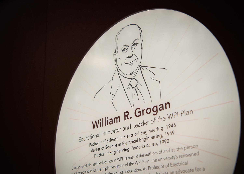 Bill Grogan's plaque