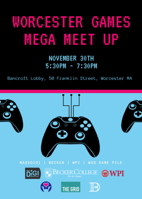 worcester games mega meet up alt