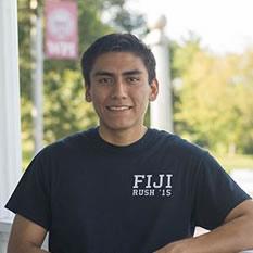 WPI Student Matthew E.