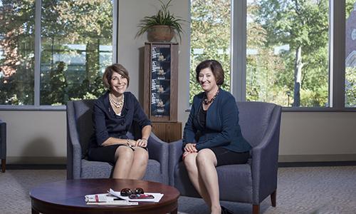 President Laurie Leshin