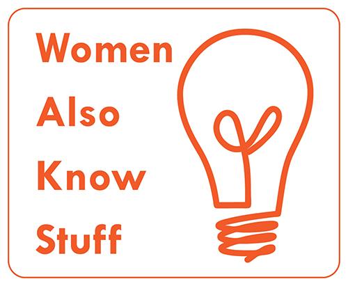 Women Also Know Stuff-Logo