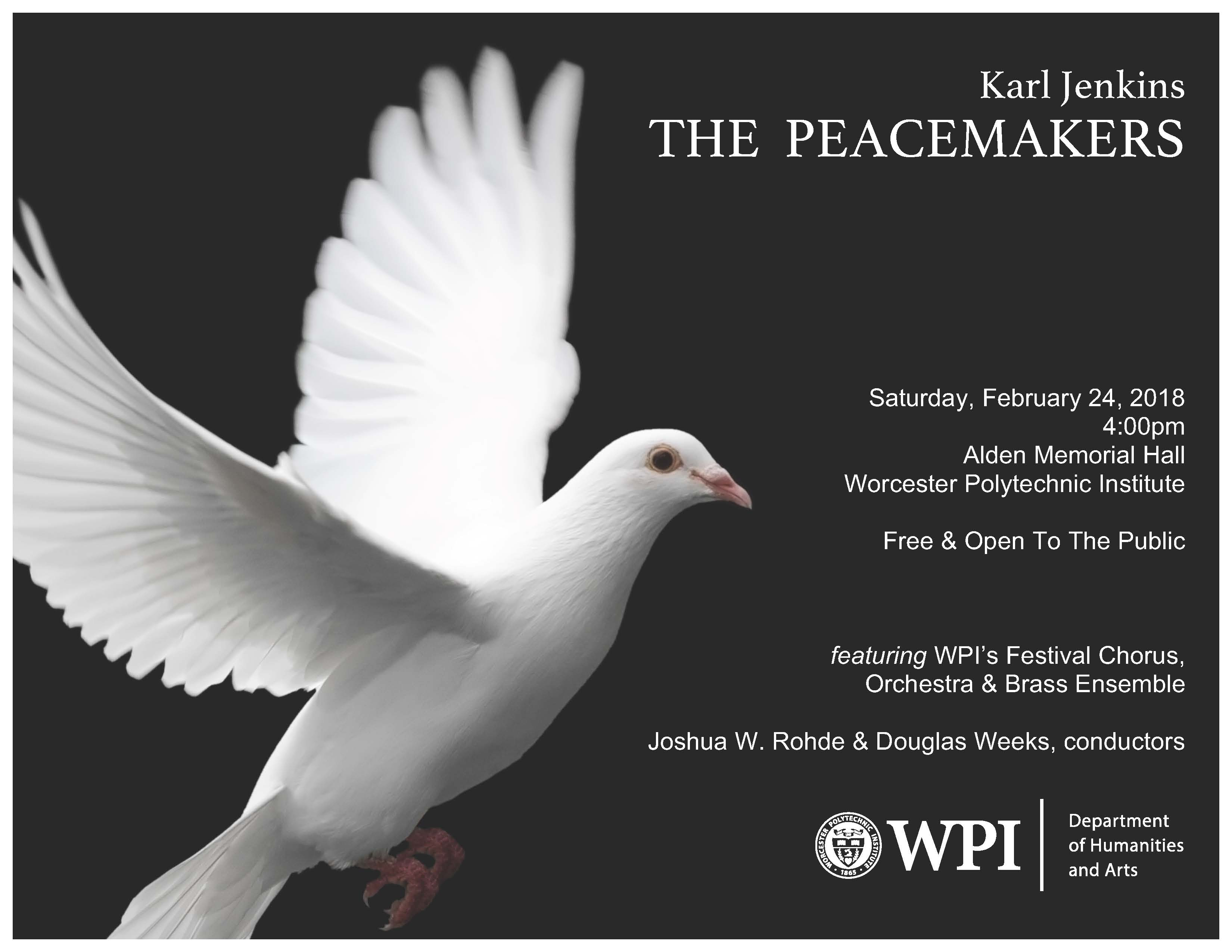 Karl Jenkins The Peacemakers alt
