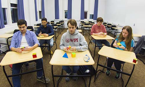 Rubik's Cube Club at WPI