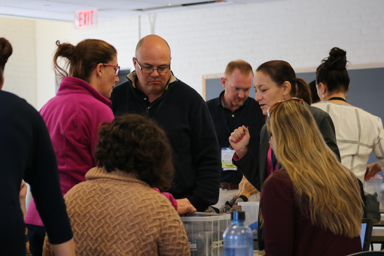 PLTW teachers networking