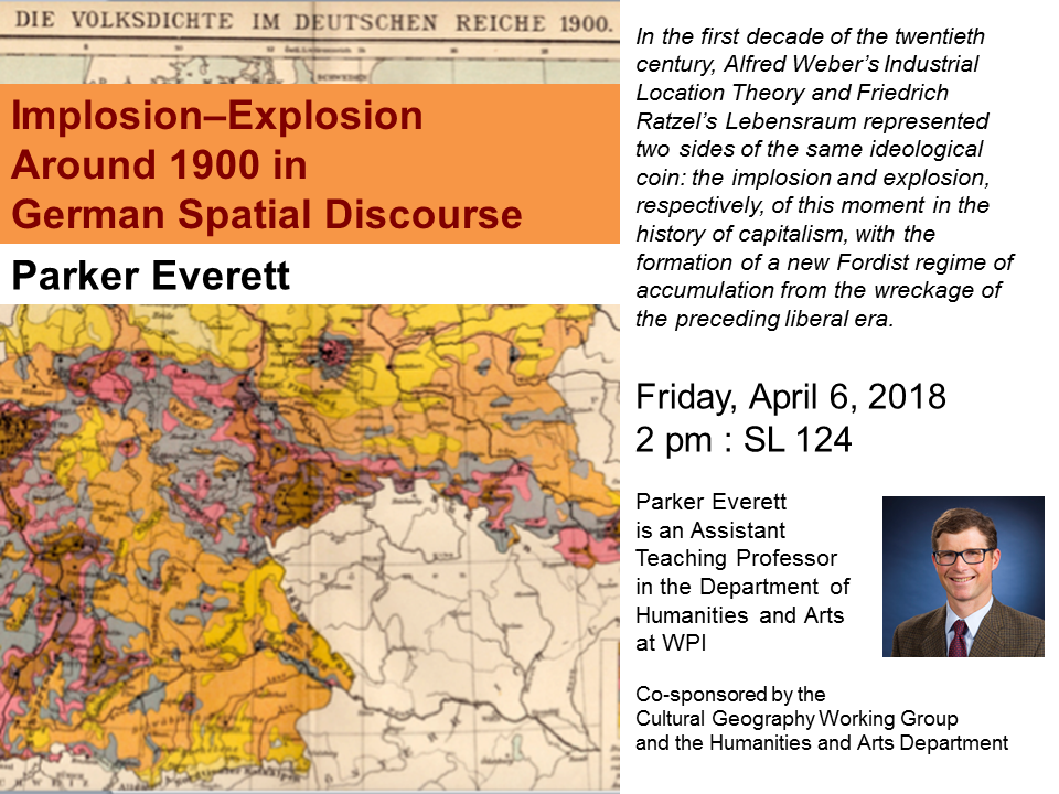 Implosion-Explosion Around 1900 in German Spatial Disclosure