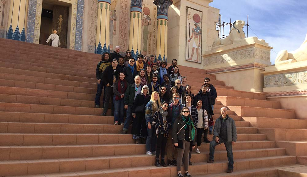 WPI students in Morocco