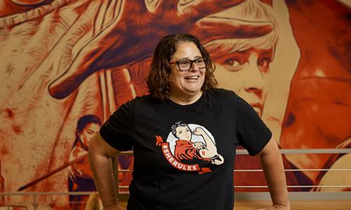WPI alumna at Netflix