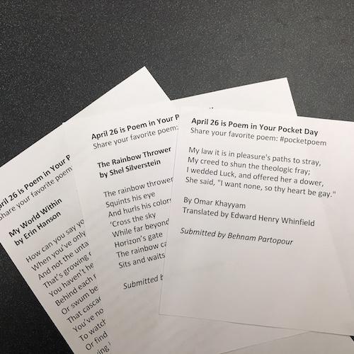 sample poems